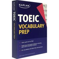 现货正版 卡普兰托业词汇 英文原版书 Kaplan TOEIC Vocabulary Prep 英文版原版 进口英语考试