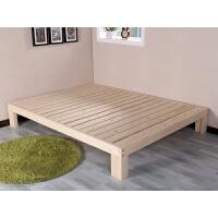 简约木榻榻米床单人双人松木床床架子1米1.2米1.5米1.8米可定做 带床垫 1800mm*2000mm 框架结构