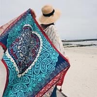 2018巴厘岛海边旅游度假防晒披纱裹裙沙滩裙巾围纱比基尼披肩