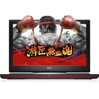 戴尔(DELL灵越 Ins15-7566-1745R 游匣15.6英寸笔记本电脑(i7-6700 8G 500G+128G 4G独显) 红色