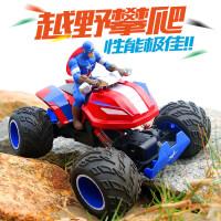 美国队长遥控越野车钢铁侠四驱赛车玩具攀爬超大脚汽车高速充电动