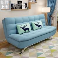 沙发床可折叠客厅小户型多功能1.5米1.8两用现代简易双人布艺沙发定制 1.2米宽x1.9米长 小鹿 1.8米-2米