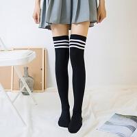 韩版春秋棉过膝袜学生�|女孩半截袜中筒长袜子高筒袜 均码