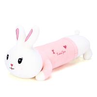 可爱兔子毛绒玩具床上睡觉夹腿抱枕玩偶女生布娃娃趴趴公仔抱抱熊