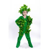 大树表演服儿童小树演出服松树柏树圣诞树舞蹈服男女大树服装 绿色长款 小树