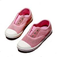 夏季镂空儿童布鞋女童网鞋透气单网男童单鞋潮宝宝鞋
