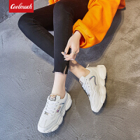 【新春惊喜价】Coolmuch女士轻便缓震小熊底校园女生运动休闲慢跑鞋HL202-1