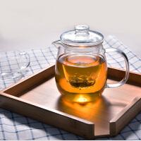 企鹅玻璃茶壶500ML 耐高温过滤泡茶杯加热泡花茶壶茶具茶器内胆过滤小企鹅高硼硅煮茶壶水杯 杯子