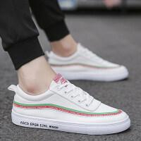 帆布鞋男板鞋夏季男鞋子潮鞋韩版潮流小白鞋男布鞋ins帆布鞋