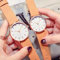 时尚潮流复古学生手表 简约休闲防水女式表 韩版时尚手表情侣石英表