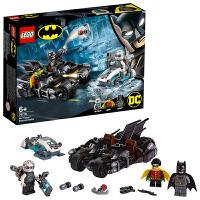 【当当自营】LEGO乐高积木超级英雄系列76118 蝙蝠侠大战急冻人