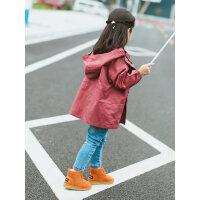儿童雪地靴男童小童短靴加绒棉鞋雪地棉女童潮韩版靴子