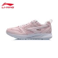 李宁跑步鞋女鞋2019新款耐磨防滑情侣鞋跑鞋鞋子复古休闲运动鞋ARHP136