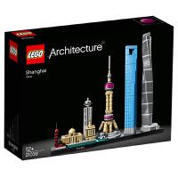 【当当自营】LEGO乐高积木 建筑系列Architecture天际线系列 21039 上海12岁+