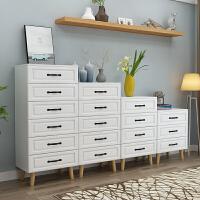北欧5斗柜收纳柜简约现代实木卧室客厅储物柜子大容量五斗橱高脚 组装