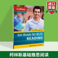 华研原版 英文考试书 英文原版 基础雅思阅读 Get Ready for IELTS Reading 备考雅思 英文版