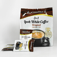 ChekHup/泽合 怡保白咖啡 马来西亚进口 三合一原味速溶咖啡600g