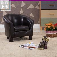 沙发椅 皮艺单人迷你可爱沙发幼儿园沙发生日礼物宝宝小沙发定制