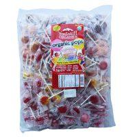 亚美滋 美国原装进口Yummy Earth/亚米 8种混装口味棒棒糖 超大包装糖果 2268G