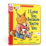 顺丰发货 英文原版 A Storyplay Book I Love You Because You're You 我爱