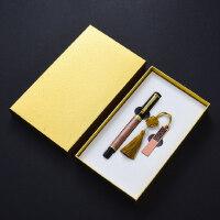 中国风青铜复古典签字笔32gu盘两件套装 金属创意高档送男士女士圣诞节礼物 公司会议年会礼品定制logo刻字