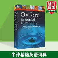 牛津基础英语词典第二版 英英词典 Oxford Essential Dictionary 英文原版辞典 牛津英语词汇词