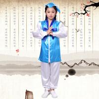 儿童书童演出服男童汉服幼儿国学服少儿三字经女童古装表演服装