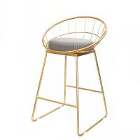 吧台椅酒吧椅咖啡厅椅茶餐厅靠背椅子家用椅吧椅高脚吧台凳圆凳子