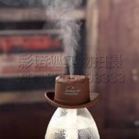 创意USB香薰加湿器家用瓶盖牛仔帽加湿器 迷你雾化器 简单优雅 瓶盖净化器