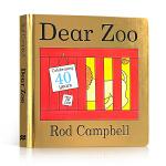 现货顺丰包邮 进口英文原版Dear Zoo 亲爱的动物园立体翻翻纸板书Rod Campbell英语启蒙绘本0-1-2-
