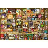 木质拼图300/500/1000片成人减压儿童益智创意玩具厨房物语