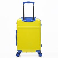 儿童行李箱男20寸小孩拉杆箱女卡通黄人万向轮学生旅行箱包登机箱 20寸容量(下单立减30元)