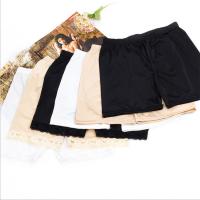 外穿蕾丝平角防安全裤三分冰丝打底裤夏季内搭女士保险裤短裤