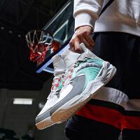 【满99-20】安踏篮球鞋男鞋2021年官网学生高帮耐磨防滑比赛篮球鞋男912011186