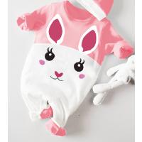 婴儿连体衣服春款0岁2个月冬装潮款宝宝衣服新生儿外出服