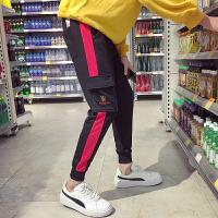 新款韩版修身小脚裤男士束脚裤学生运动裤青年休闲裤潮流