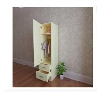 20190807091240086简约现代单门衣柜大小衣柜简易实木衣橱收纳柜 阳台柜 储物柜 单门 组装