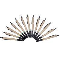 晨光81107木之语按动中性笔 0.5mm全针管水笔 按压式水性笔