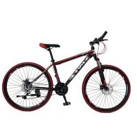 山地车自行车2426寸双碟刹变速单车21速铝合金