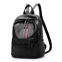 休闲背包双肩包女2018新款百搭旅行包韩版潮时尚双肩包大容量书包