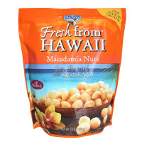 美加农场 盐�h夏威夷火山果仁680g  美国进口夏威夷果火山果 无壳坚果休闲零食