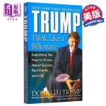 【中商原版】川普特朗普 像亿万富翁一样思考英文原版―源于商业和生活的成功之道 Donald John Trump 唐纳
