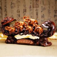 六象吉祥如意招财摆设 大象摆件 创意高端摆件家居欧式客厅装饰品