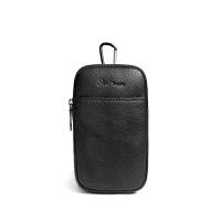 新款男士穿皮带手机腰包迷你男包手机包男休闲户外小背包