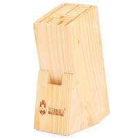 巧媳妇刀架松木插刀座刀架多功能收纳菜刀具架置物架