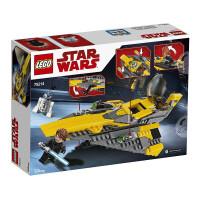 【当当自营】LEGO乐高积木星球大战StarWars系列75214 安纳金的绝地星际战机