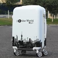 拉杆箱万向轮行李箱男密码箱女韩版旅行箱20寸24寸拖箱拉箱登机箱