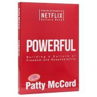 【现货正版包邮】Powerful 强大的:构建自由且负责的企业文化 Netflix创始人 团队文化建设参考 英文原版 商业管理