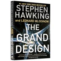 现货正版 大设计 彩色插图版 英文原版 The Grand Design 阐释宇宙问题 史蒂芬霍金著 Stephen H
