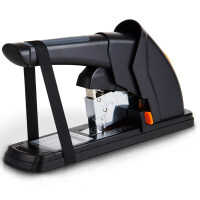 得力0386省力厚层订书机 重型订书器 凭证装订器 120页加厚